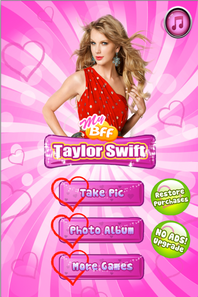 Screenshot Amazing! My BFF – Taylor Swift edition Plus